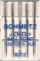 Schmetz Domestic Needles - Ballpoint/Jersey