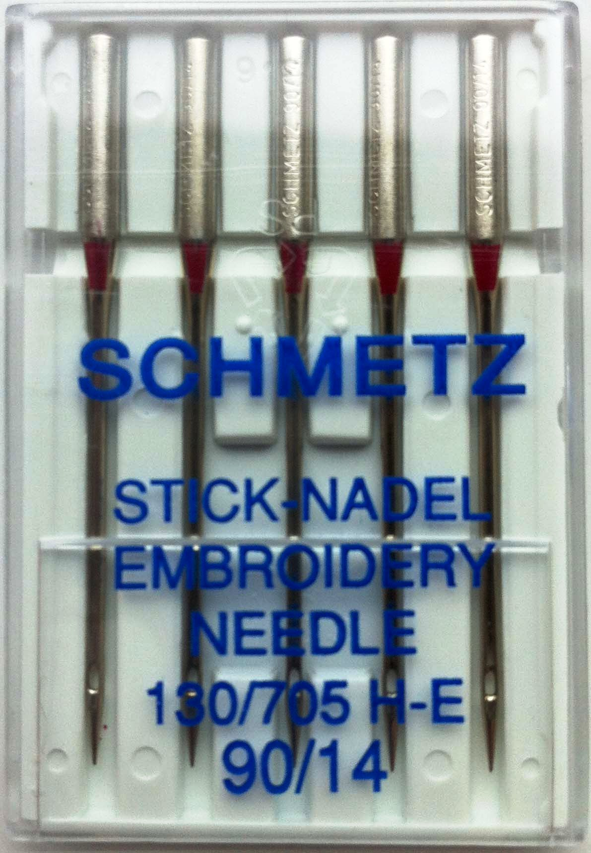Schmetz Domestic Needles - Embroidery