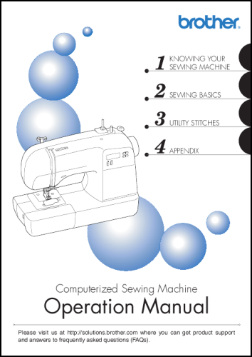 Home Sew Manuals