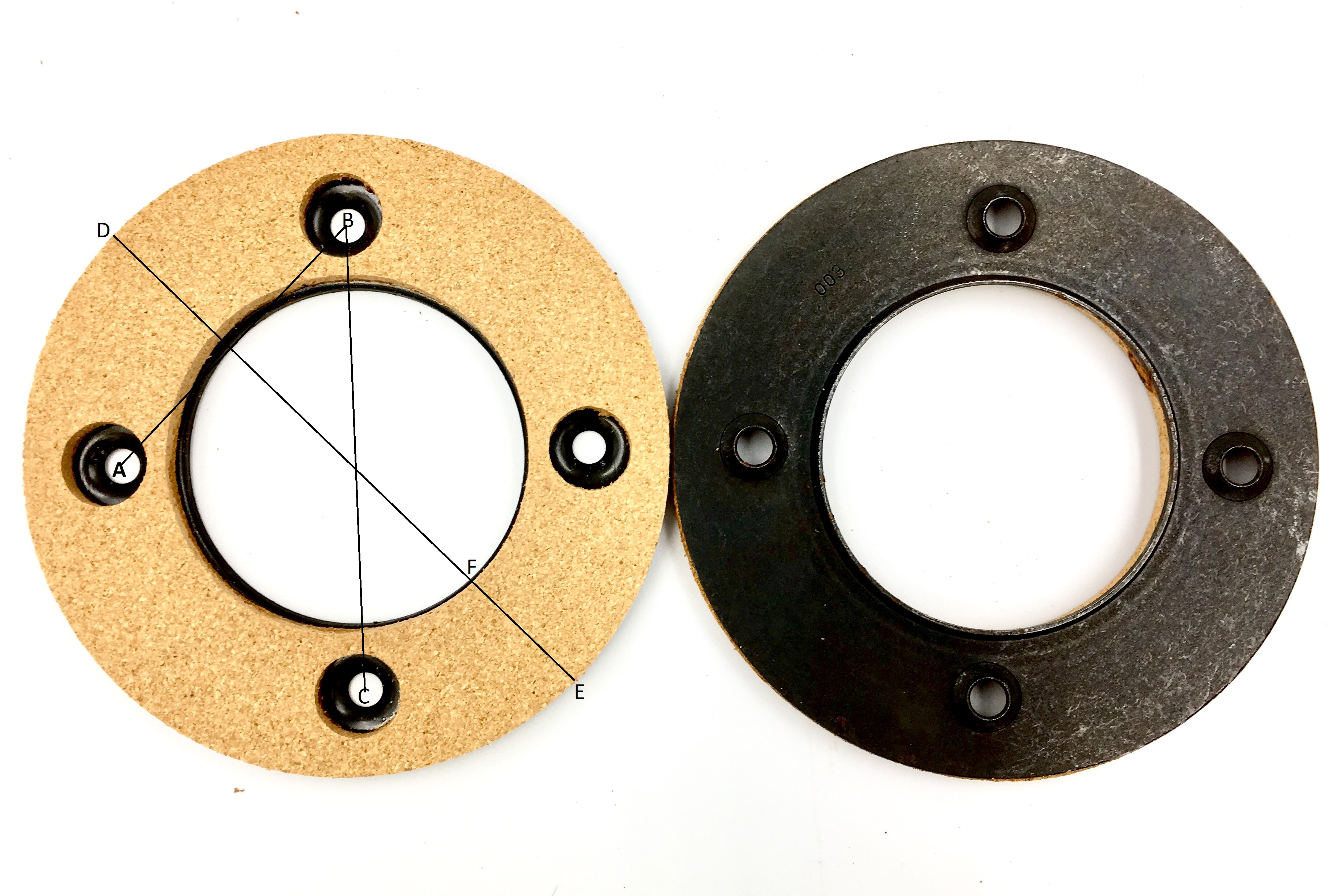 Clutch Cork HS003 - Jones/Brother Clutch Motors