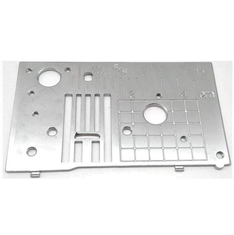 Needle Plate 'A' assy. - XE6468001